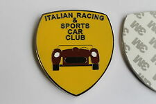 ITALIAN RACING CLUB BADGE EMBLEM 3M