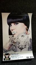 JESSIE J poster - WHO YOU ARE  - promo poster - 11 x 17 inches
