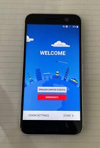HTC 10 - 32GB - Glacier Silver (Sprint) Smartphone