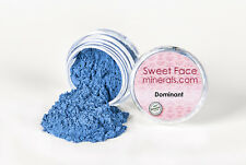 DOMINANT EYE SHADOW Mineral Makeup Skin Sheer Blue Liner Powder Cover