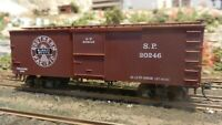 Roundhouse MDC HO Old Time 36' Boxcar, Southern Pacific Upgraded, Exc