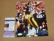 "Terry Bradshaw, Pgh Steelers, Signed 8"" x 10"", Game Photo, JSA COA"