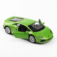 1:36 Lamborghini Huracan LP610-4 Model Car Diecast Gift Green Kids Pull Back