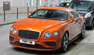 """PAY NOW Private Cherished Number Plate """"P88Y NW"""" Bailiff High Court Accountant"""
