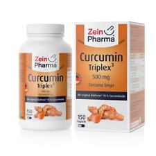 Curcumina-triplex 500mg (150 cápsulas) naturales de alta calidad concentrados curcumina