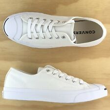 Converse Jack Purcell Ox Low Top Black White Athletic Casual Sneakers 1Q698 Size