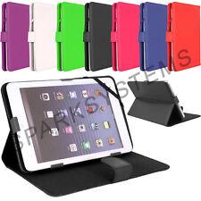 """Cuero PU iPad tablet PC plegable soporte Funda cubierta para cualquier 7"""" pulgadas Android Tab"""