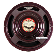 "NEW WGS BLACK HAWK HP 100w 12"" Alnico Guitar Speaker 8ohm"
