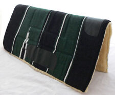 NEW Western / Stock GREEN Saddle Thick Pad Blanket Navajo