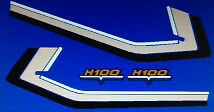 HONDA H100 RESTORATION DECAL SET
