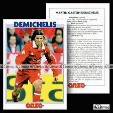 DEMICHELIS MARTIN GASTON (BAYERN MUNICH) - Fiche Football / Fussball 2006