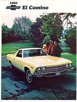 1969 Chevrolet El Camino Sales Brochure - SS