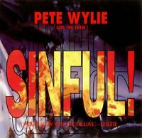 """PETE WYLIE and THE FARM Sinful 1991 UK 12"""" Vinyl Single EXCELLENT CONDITION"""
