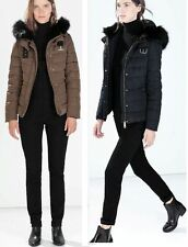 Zara Zip Full Length Coats & Jackets for Women