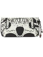 Banned Purse Skull Glow In The Dark Black