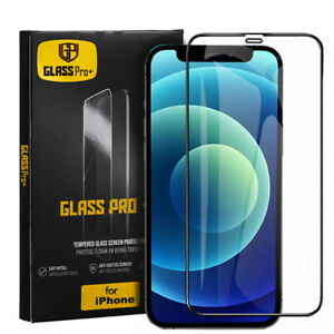Tempered Glass Full Screen Protector For iPhone 12 11 Pro XS MAX X XR 7 8 Plus