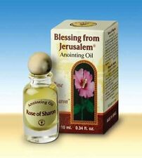 Rose of Sharon Jerusalem Anointing Oil from Holy Land