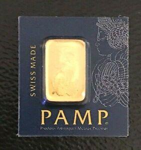 1 gram Gold Bar Pamp Swiss Mint Proof Sealed ASSAY AUT CERTIFICATION INVESTMENT