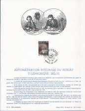 FA22 Editions Frisch  Automatisation intégrale du réseau téléphonique belge