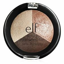 ELF BAKED TRIO EYESHADOW in 'Peach Please' Nude Naked Neutral Palette BN&B