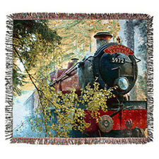 Universal Studios Hogwarts Express Throw New with Tag