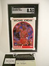 1989 Hoops Michael Jordan # 200 SGC 8.5 NM-MT+