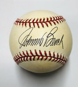 Reds JOHNNY BENCH Signed Official NL MLB Baseball AUTO - HOF