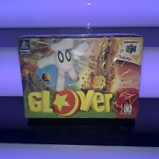 New FACTORY SEALED Glover (Nintendo 64, 1998) N64 Good Condition