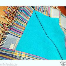 Rainbow Stripes Genuine 100%  Kenyan Kikoy Kikoi Towel WFTO