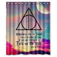 Brand New Harry Potter Shower Curtain 60 X 72 Inch