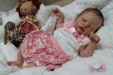 Tiny Timm's reborn baby girl doll Anastasia by Olga Auer SOLE