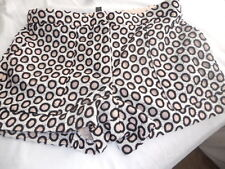NWT J CREW PUNCHED-OUT EYELET SHORTS MULTI SIZE 6
