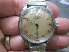 CYMA TAVANNES AUTOMATIC STAINLESS MENS Running Wristwatch