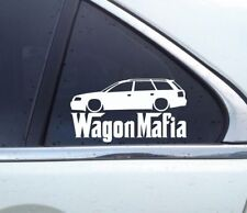 Lowered WAGON MAFIA sticker - for Audi A6 avant ( C5 ) vag