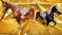 Breyer Western Horse  And Western Prancer, Vintage Lot