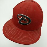 Arizona Diamondbacks New Era Ball Cap Hat Fitted 7 5/8 Baseball Adult