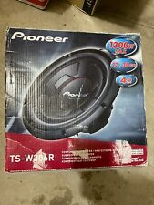 """PIONEER TS-W306R 12"""" SUBWOOFER 