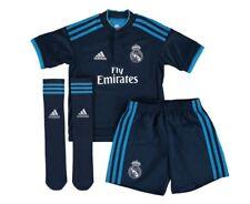 adidas Real Madrid CF 2015-2016 Junior Third Strip Blue 164 Cm