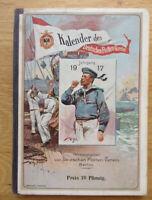 Flottenkalender / Kalender des deutschen Flottenvereins 1917