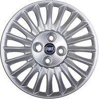 Set 4 Borchie Coppe Copponi Copri Cerchi 15 L/B Fiat Grande Punto Dal 2005 >