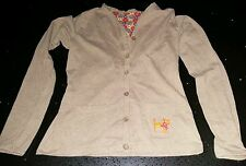 Girls Oilily Brown Jersey Cardigan Age 12