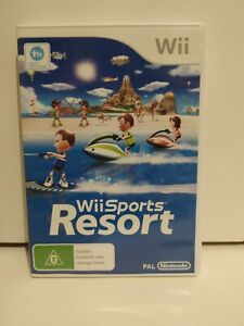 Wii Sports Resort Game PAL **FREE TRACKED POSTAGE**