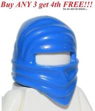 ☀️NEW Lego City Boy/Girl Minifig Hat Blue Head Wrap Ninja NInjago Jay Headgear