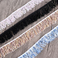 Spitzenborte Rupfenband Nähen Zierband Neu DIY Basteln Quastenborte Vorhang Deko