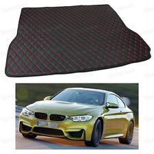 Anti Scrape Leather Car Trunk Mat Carpet Fit for BMW M4 Coupe 2015-2017