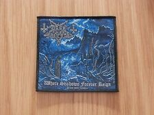 DARK FUNERAL - WHERE SHADOWS  (NEW) SEW ON W-PATCH OFFICIAL BAND MERCH