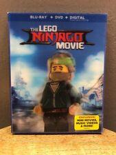 Lego Ninjago Movie (Blu Ray + DVD, 2017) with Target Lenticular Slipcover