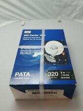 Western Digital Caviar Blue 320GB PATA Hard Drive with 7200RPM 100Mb-s 8MB