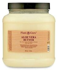 3 lbs. Aloe Vera Butter Cold Pressed 100% Pure Raw Organic For Skin, Hair, Bulk