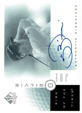 Joe Ogilvie 2001 SP Authentic Sign of the Times #JO